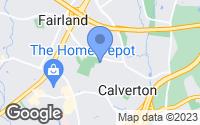 Map of Calverton, MD