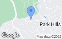 Map of Park Hills, KY