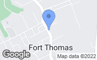 Map of Fort Thomas, KY