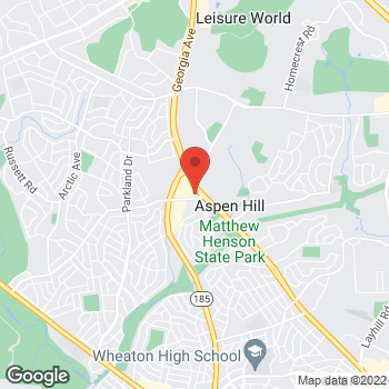 Map of Taco Bell at 13830 Georgia Avenue, Silver Spring, MD 20906
