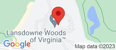 Branch Location Map - PNC Bank, Leisure World Branch, 19375 Magnolia Grove Square #240, Lansdowne VA