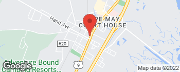 Map of 15 S Main St in Cape May Court House