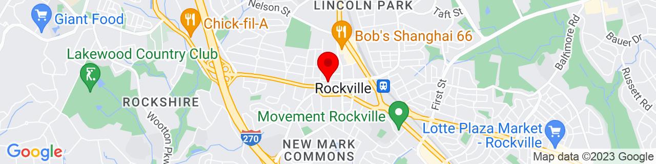 Google Map of 39.0847059, -77.155282