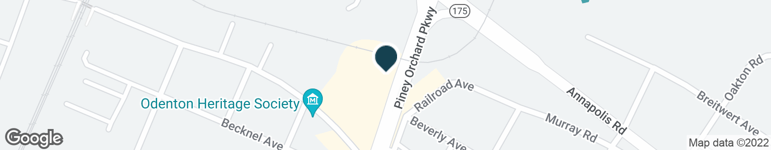 Google Map of8374 PINEY ORCHARD PKWY