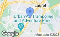 Map of Laurel, MD
