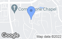 Map of Leesburg, VA