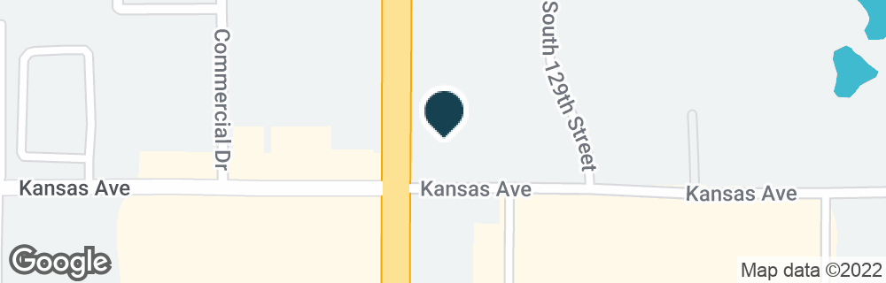 Google Map of550 S 129TH ST