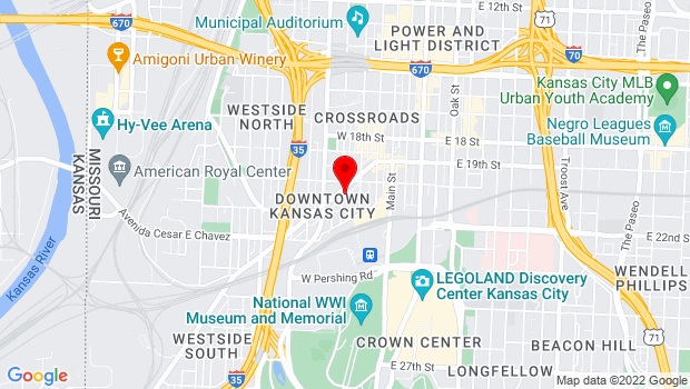 Google Map of 229 Southwest Boulevard, Kansas City, MO 64108