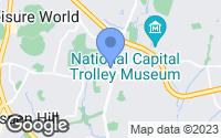 Map of Aspen Hill, MD