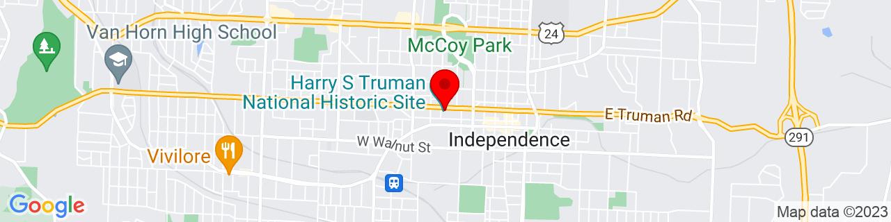 Google Map of 39.0936971, -94.423273