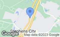 Map of Stephens City, VA