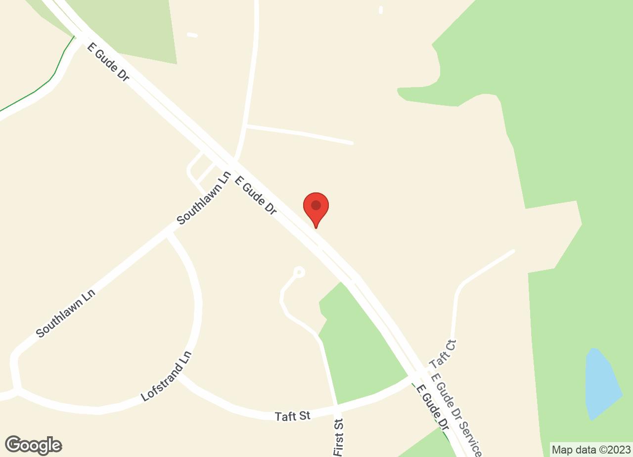 Google Map of VCA North Rockville Animal Hospital