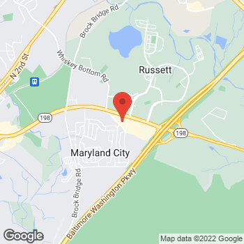 Map of Tuesday Morning  - Closed at 3405 Fort Meade Road, Laurel, MD 20724