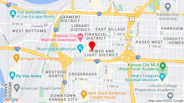 Google Map of 1 H and R Block Way, Kansas City, MO 64105