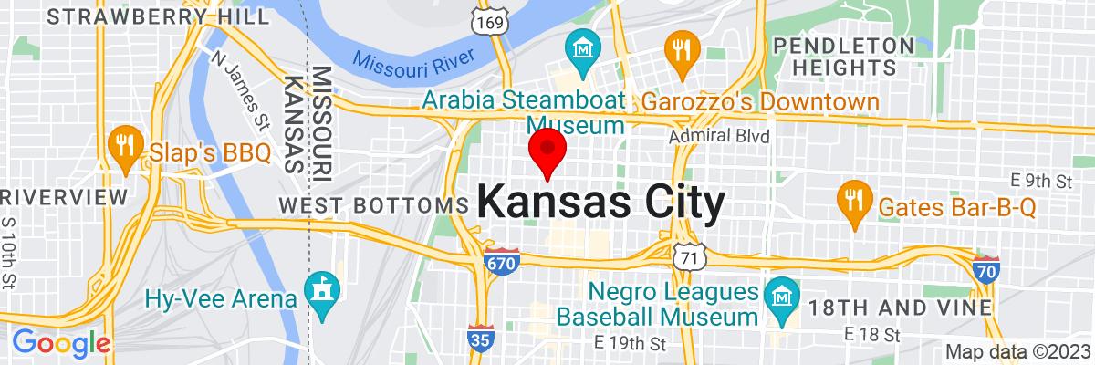 Google Map of 39.101982777778,-94.584735277778