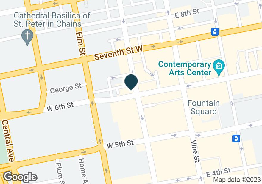 Google Map of601 RACE ST