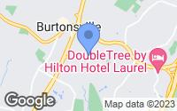 Map of Burtonsville, MD