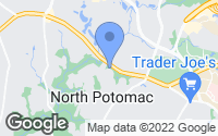 Map of North Potomac, MD