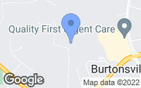 Map of Burtonsville, MD