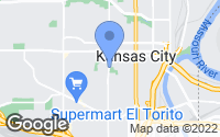 Map of Kansas City, KS