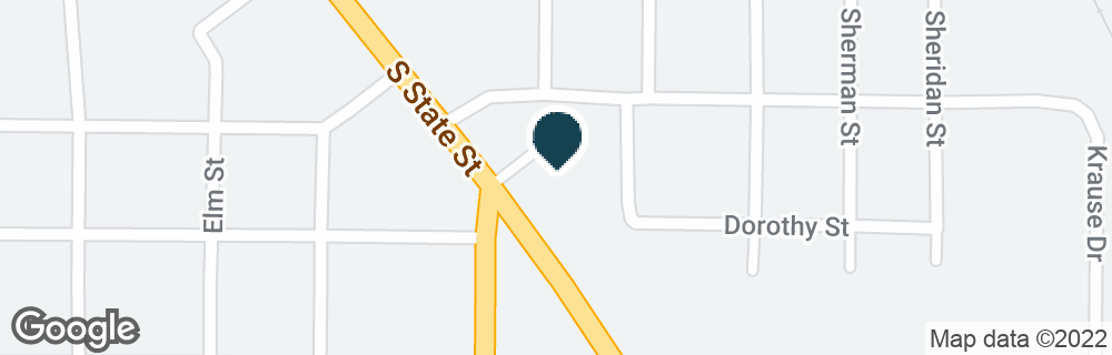 Google Map of705 S STATE ST