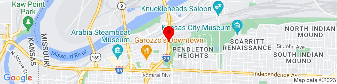 Google Map of 39.113832, -94.5647568