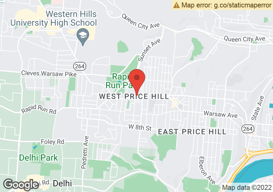 Google Map of 4241 GLENWAY AVE