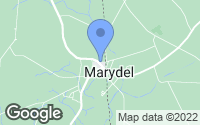 Map of Marydel, MD