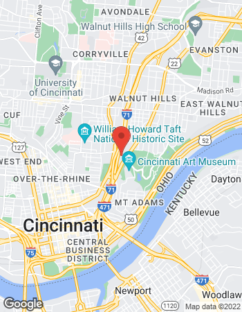 Map of David Heck - TIAA Financial Consultant at 625 Eden Park Drive, Cincinnati, OH 45202