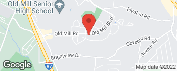 Map of 495 Old Mill Rd in Millersville