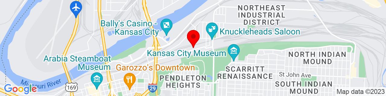 Google Map of 39.1185984, -94.55394109999999