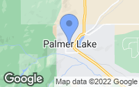 Map of Palmer Lake, CO