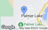 Map of Palmer Lake, CO