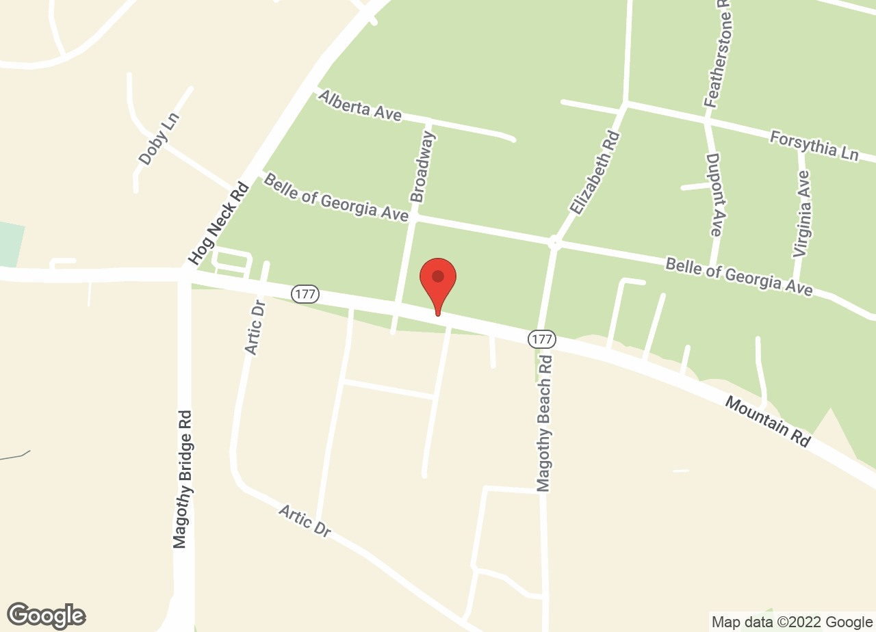 Google Map of VCA Calvert Veterinary Center
