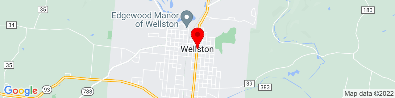 Google Map of 39.1234054, -82.53293769999999