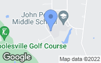 Map of Poolesville, MD