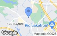 Map of Gaithersburg, MD