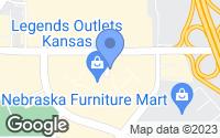 Map of Kansas City, KS