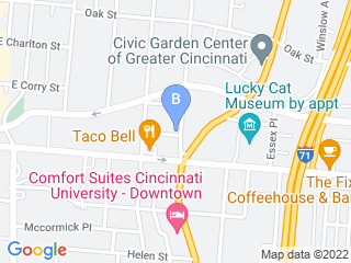 Map of Dogtown Cincinnati Dog Boarding options in Cincinnati | Boarding