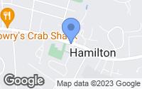 Map of Hamilton, VA