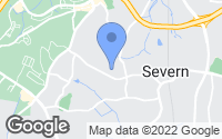 Map of Severn, MD