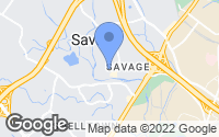 Map of Savage, MD