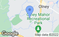 Map of Olney, MD