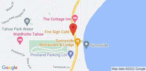 Directions to Fire Sign Cafe
