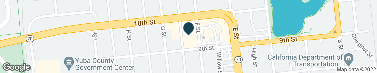 Google Map of602 10TH ST