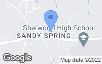 Map of Ashton-Sandy Spring, MD