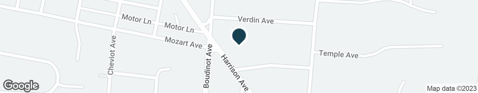 Google Map of3186 HARRISON AVE