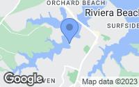 Map of Pasadena, MD