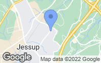 Map of Jessup, MD