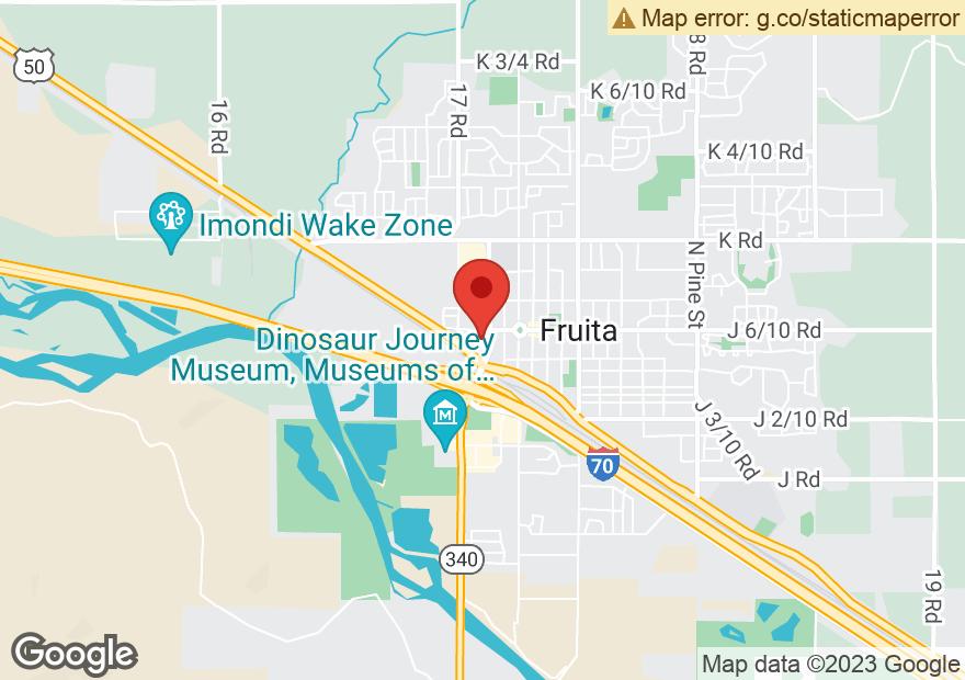 Google Map of 316 W ASPEN AVE